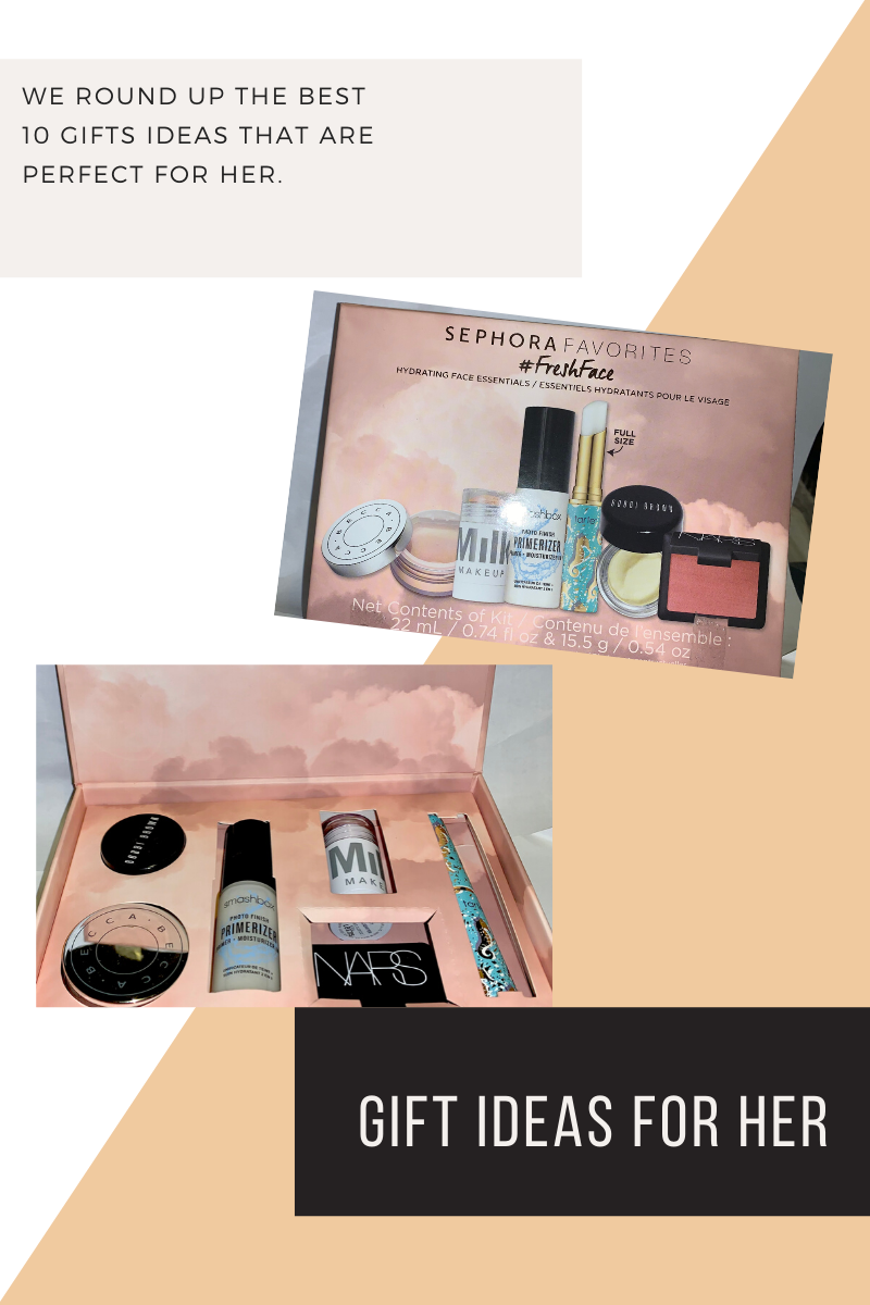 Gift Ideas for her - beauty products