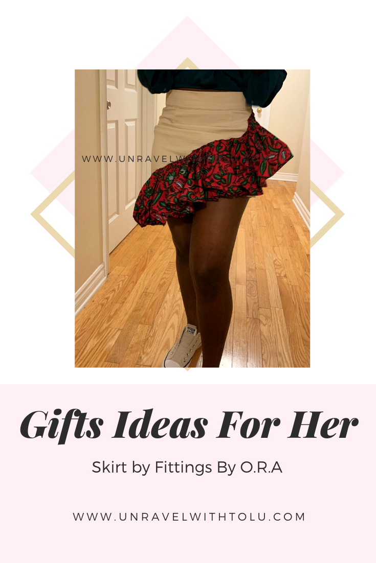 Gift ideas for her - clothes