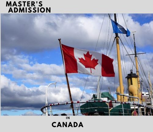 Masters admission in canada