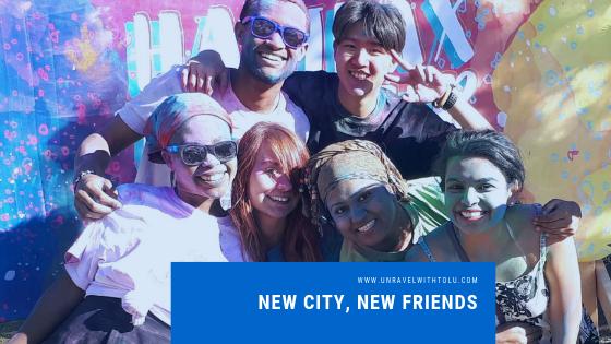 New Friends,New City