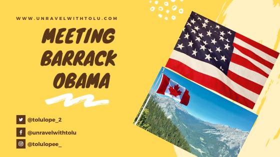 meeting barrack obama