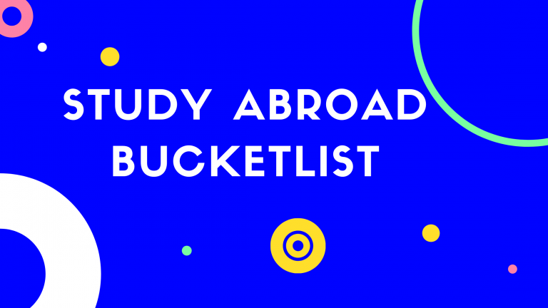the ultimate study abroad bucketlist
