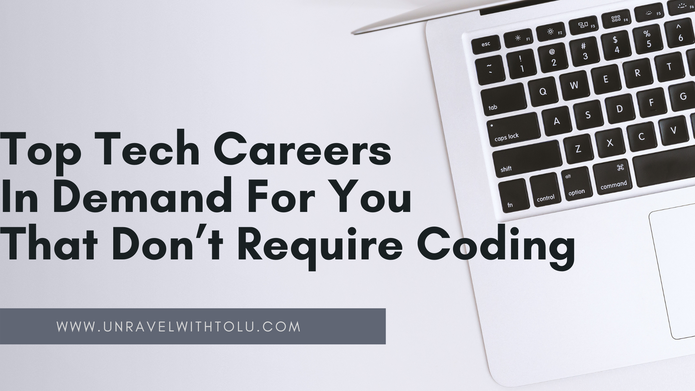 Top Tech Careers In Demand For You That Don't Require Coding